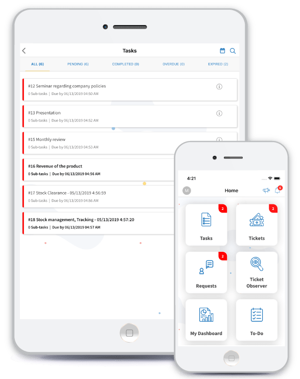 Cloint LLC busimess process management and task management software android and ios app